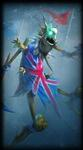 79. Union Jack Fiddlesticks